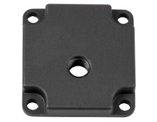 ¼-20 Mounting Adapter for EO USB 3.0 Cameras - Rev 2, #35-088