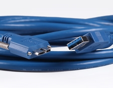 USB 3.1 Locking Cable, 3m, #86-770