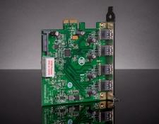 USB 3.1 PCIe 2.0x1 4 Port Interface Card, #89-539