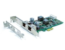 GigE PCIe 2.0x1 2 Port Interface Card with PoE, #89-541