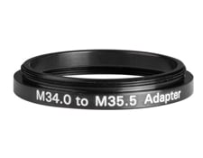 M34.0 to M35.5 Step-Up Adapter, #36-001