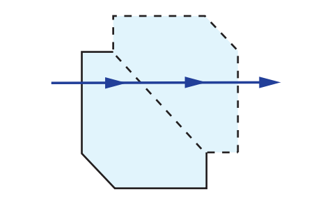 Amici Roof Prism Tunnel Diagram