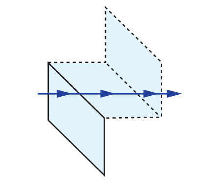 Rhomboid Prism Tunnel Diagram