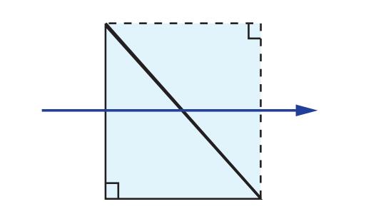 Right Angle Prism Tunnel Diagram