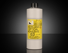 Norland Optical Adhesive NOA 63, 1 lb. Bottle