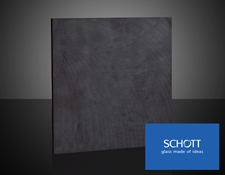 SCHOTT UG Glass (glass color will vary by product specification)